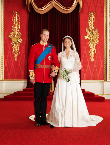 Royals set wedding trends and traditions