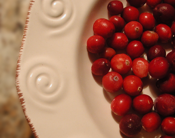 Putting the squeeze on cranberries