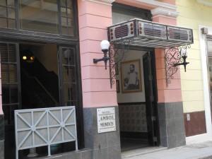 Ambos Mundos Hotel in old Havana