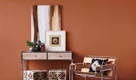 Warm, earthy hues colours take us back to the '70s